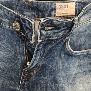 G-Star Jeans - G Star 3301 Straight Leg Jeans